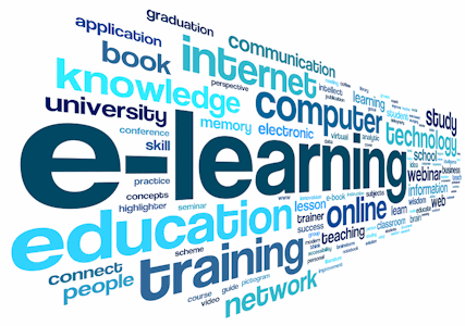 E-learning education training etc